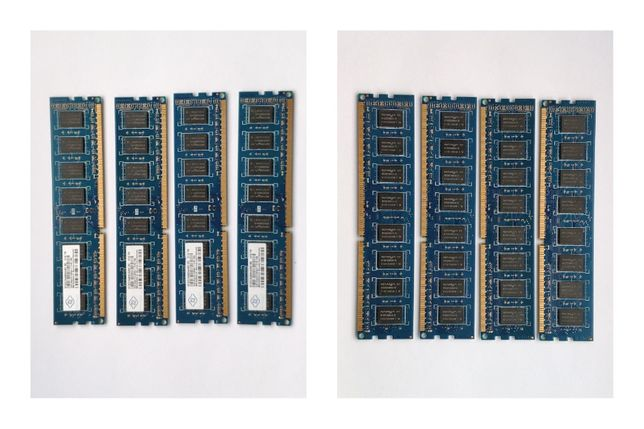 Pamięć 8GB (4x2) DIMM DDR3 1066MHz