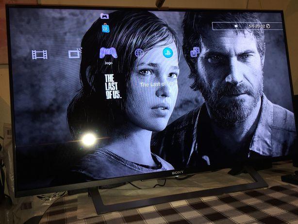 "Smart TV Sony Bravia 43"" com Wi-Fi e YouTube , Netflix"