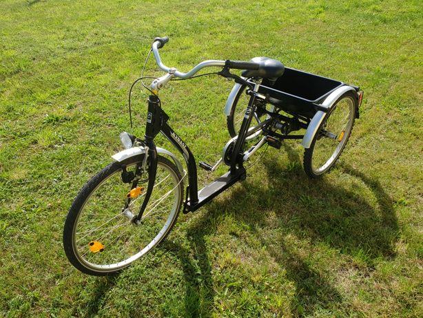 Rower trójkołowy rehabilitacyjny Kynast 3 biegowy