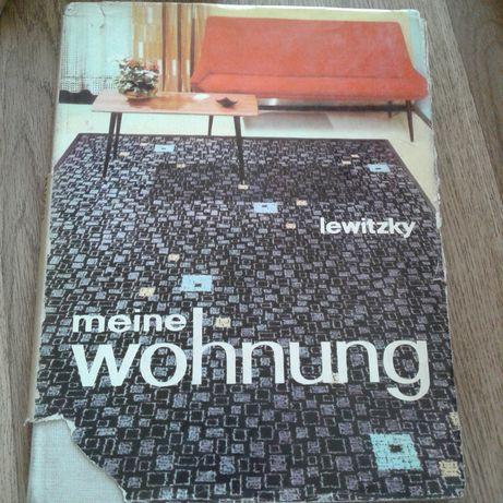 Moje mieszkanie książka po niemiecku wystrój wnętrz z Berlina