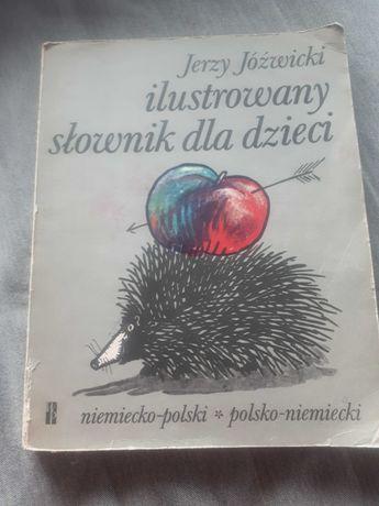 Słownik niemiecko polski ilustrowany dla dzieci
