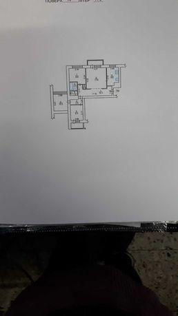 Продам трёхкомнатную квартиру в центре города по улице Независимости