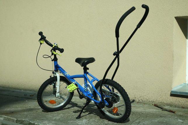 """Rower Dziecięcy Decathlon B'Twin 16"""" Cop Trooper Niebieski - dziecka"""