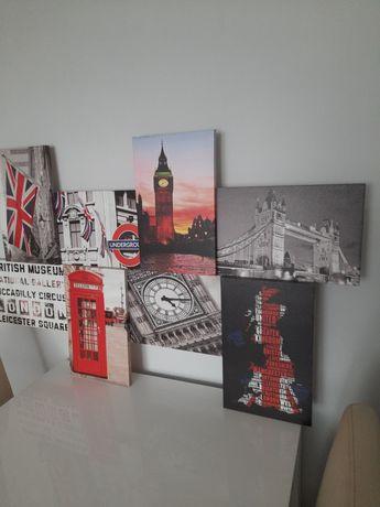 Obraz  Londyn prosto z Anglii