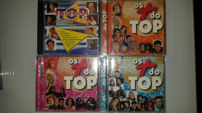 CD compilações portuguesas