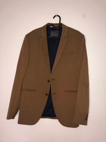 komplet zara dla mężczyzn + kurtka męska garnitur van heusen