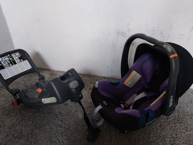 Fotelik Samochodowy nosidełko Romer Baby Safe Plus II Baza Isofix 0-13
