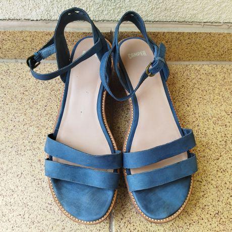 Sandały niebieskie Camper 39