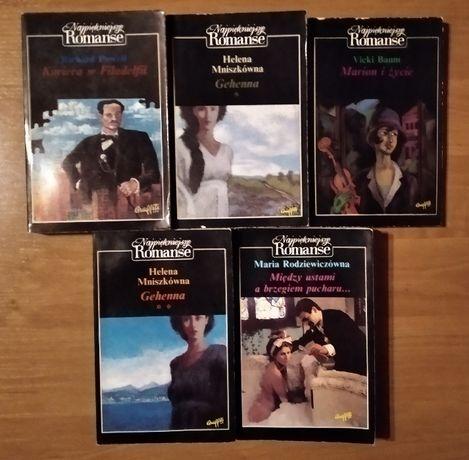 zestaw książek najpiękniejszy romans.