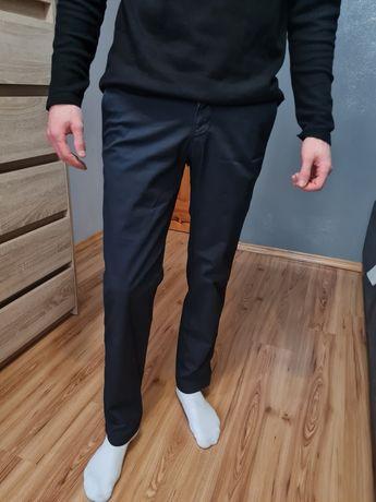 Grantowe spodnie Hugo boss