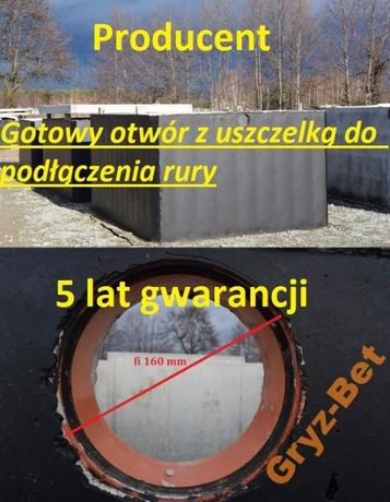 szambo betonowe 12 szamba zbiorniki szczelne producent montaż 8 10 6 5