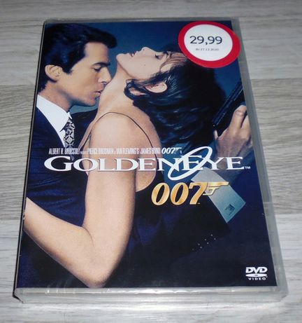James Bond 007 GOLDENEYE Pierce Brosnan FOLIA NOWY