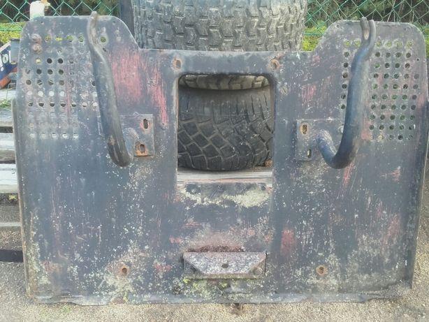 Traktorek kosiarka viking cyklon belka sciana tył os wieszak zbiornik