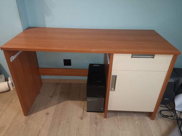 Łóżko biurko półka