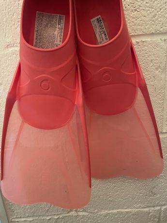 Barbatanas Decathlon rosa