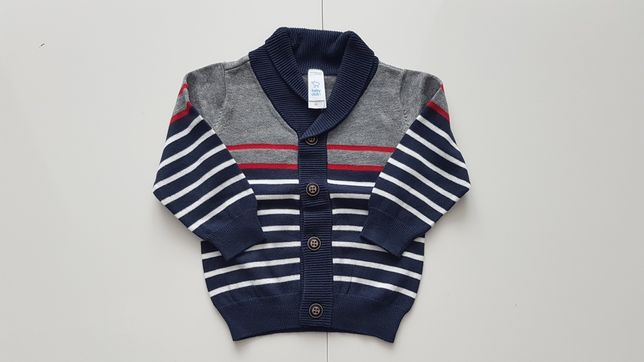 Piękny sweter baby club C&A rozmiar 86 Stan: IDEALNY!!!