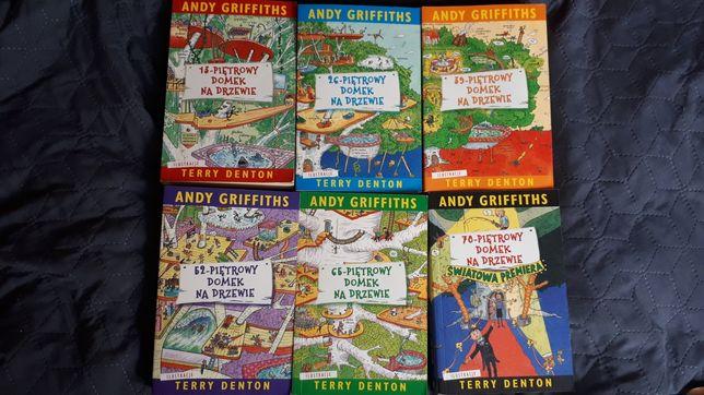 """Andy Griffith Książki z serii """"X - piętrowy domek na drzewie"""""""