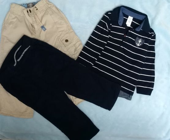 Spodnie, koszulka dla chłopaka, komplet, zestaw 92