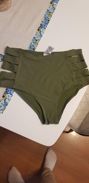 Stroj kapielowy h&m majtki bikini wysoki stan
