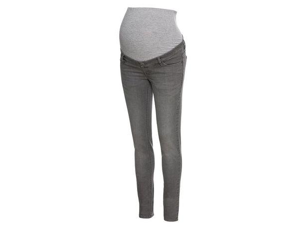NOWE Jeansy ciążowe ESMARA (Lidl) r. 44 szare