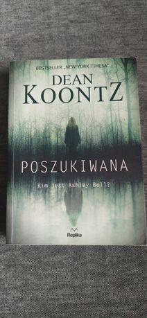 """Książka """"Poszukiwana"""" Dean Koontz"""