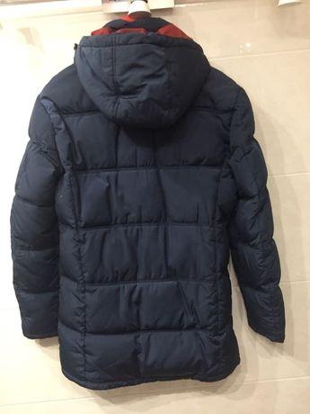 Приталенная зимняя куртка
