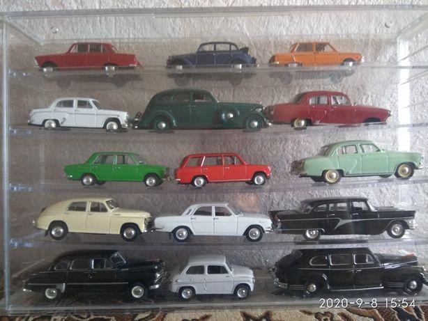 Продам коллекцию моделей автомобилей