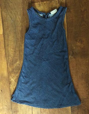 Сарафан платье школьный форма 6-7-8л 122см