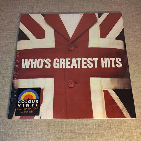 The WHO : Who's Greatest Hits (COLOURED VINYL) LP / Винил / VL