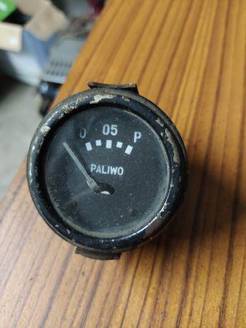 Stary zabytkowy wskaźnik paliwa pafal prl antyk