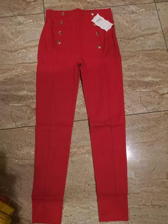 Nowe spodnie wysoki stan
