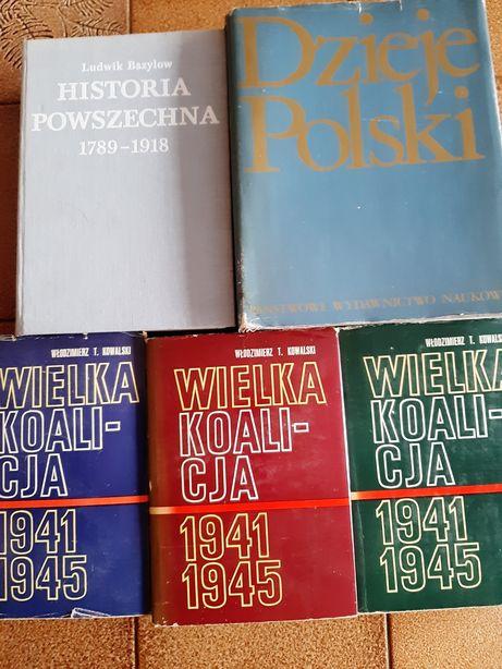 Książki historyczne.