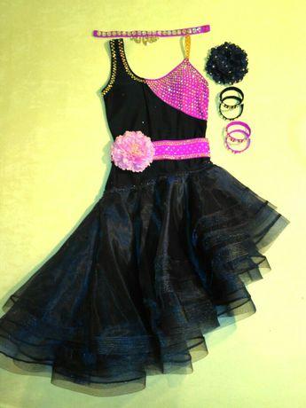 Платье для танцев на латину
