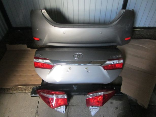 Toyota Corolla 2013-2019 E160 E180 дверь,двери кришка багажника,бампер
