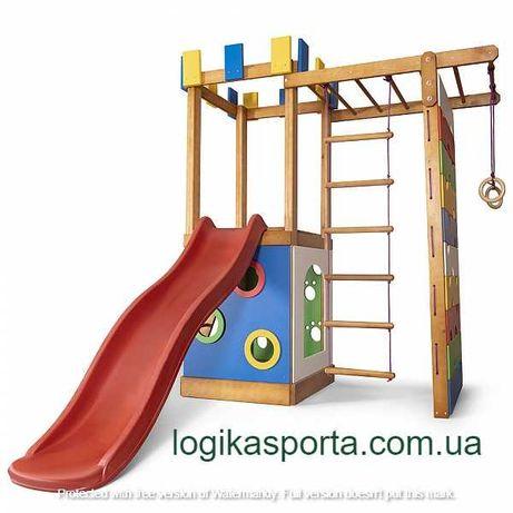 Горка, детский спортивный комплекс. Детская игровая площадка для двора