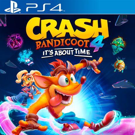 Crash Bandicoot 4 Игры PS4/PS5, CTR Team Racing Cuphead Overcooked! 2