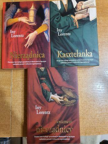 Nierządnica, trylogia, Iny Lorentz