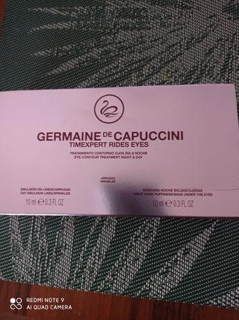 Zestaw Germaine de Capuccini Pielęgnacja okolicy oka na dzień i na noc
