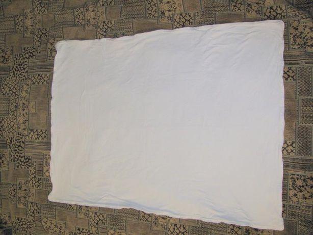 Простынь на резинке 110*60 см + двухслойное трикотажное одеяльце