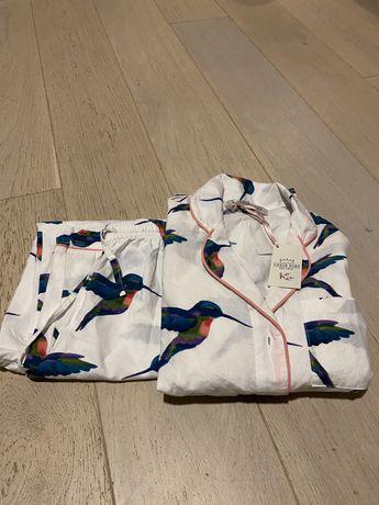 Nowa bawełniana piżama 100% bawełna