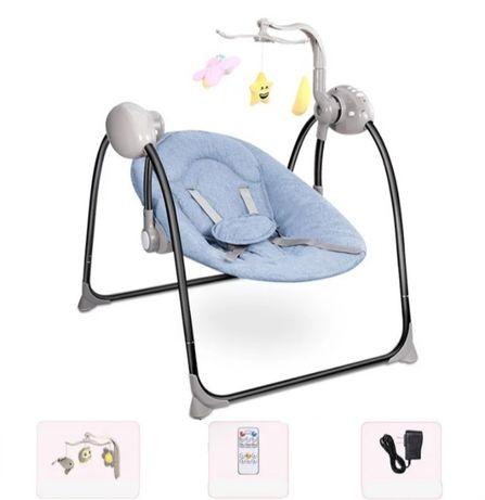 *Nova* Espreguiçadeira/Cadeira Baloiço Bebé Eléctrica com Som c/oferta