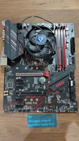 Motherboard Z390 + Intel Celeron G4930 ( Mining 6 GPUs )