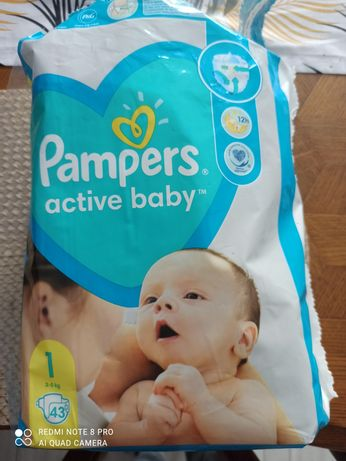 Pampers active baby rozmiar 1