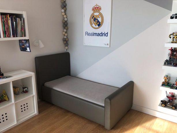 Łóżko dziecięce z materacem 70x150 + zabezpiezenie dla maluchow gratis