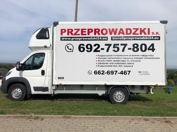 Przeprowadzki kompleksowe - krajowe i międzynarodowe 24/7