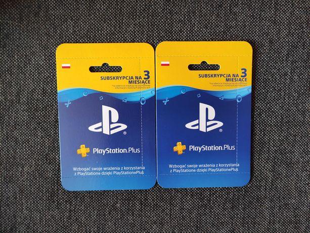 Playstation plus 3 miesiace 90 dni nowe