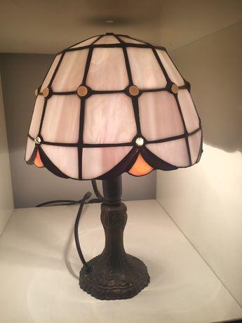 Witraż lampa