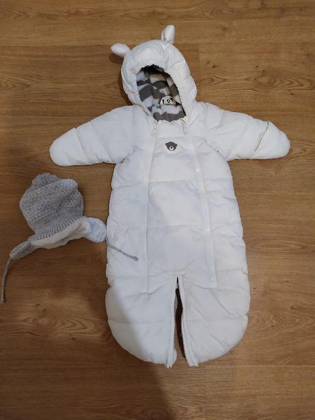niemowlęcy kombinezon zimowy