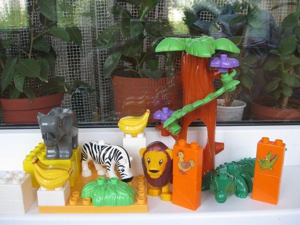 Lego duplo лего дупло зоопарк аналог