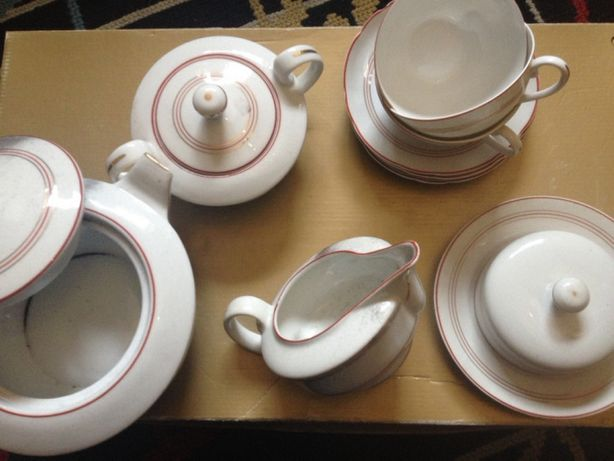 Vista alegre conjunto serviço de chá 10 peças